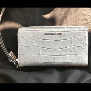 Grey Snakeskin Michael Kors wallet